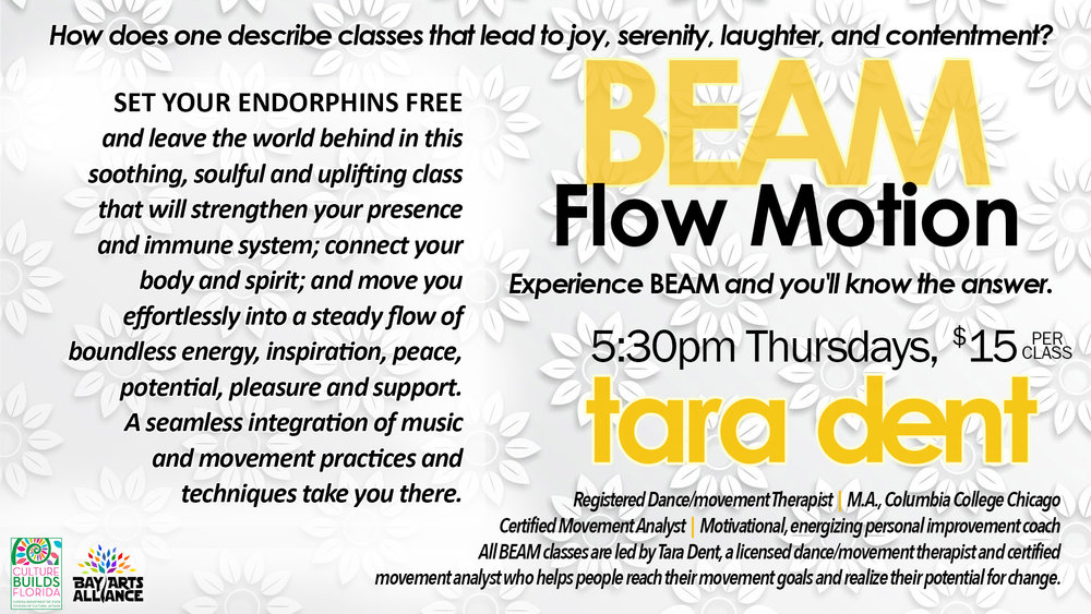 Every Thursday beginning at 5:30pm. $15. per class.