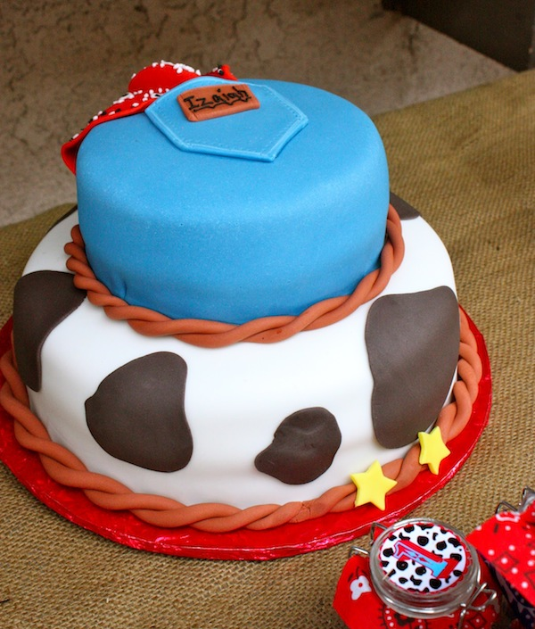 Red White Blue Cowboy First Birthday Party