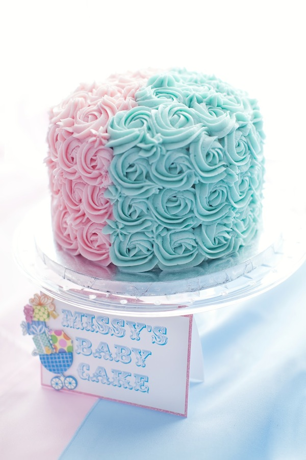 A Sweet Pink Blue Baby Shower Event