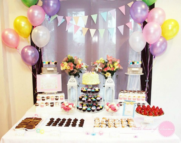 Birthday Table Set Up] Best 25 Birthday Party Tables Ideas On ...