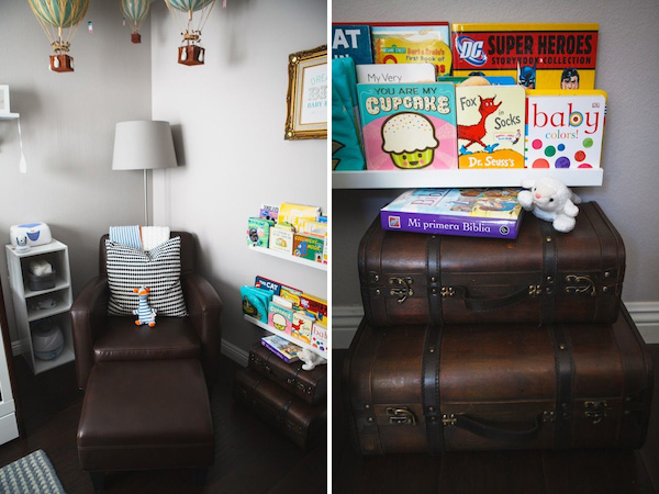 A Travel Inspired Baby Nursery Design