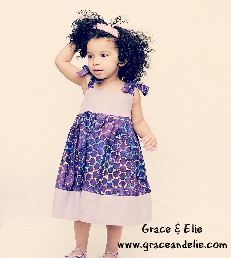 Playful and Colorful Dresses for Your Global Trendsetter Girl from Grace & Elie / as seen on www.GiggleHearts.com