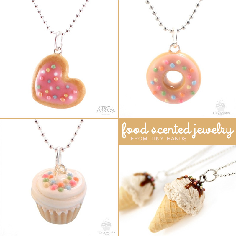 A sweet sprinkling of scented food jewelry giggle hearts for How to make scented jewelry