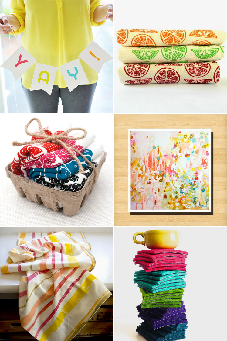 Unique and Colorful Handmade Gifts for Everyday Celebrating