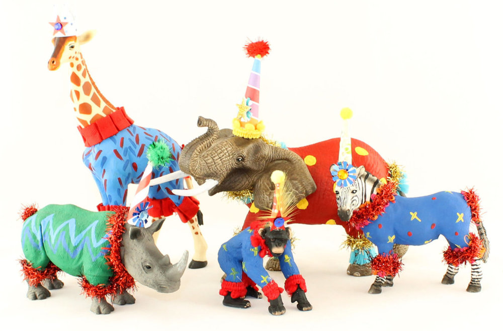 Click To Shop For Your Favorite Circus Cake Toppers