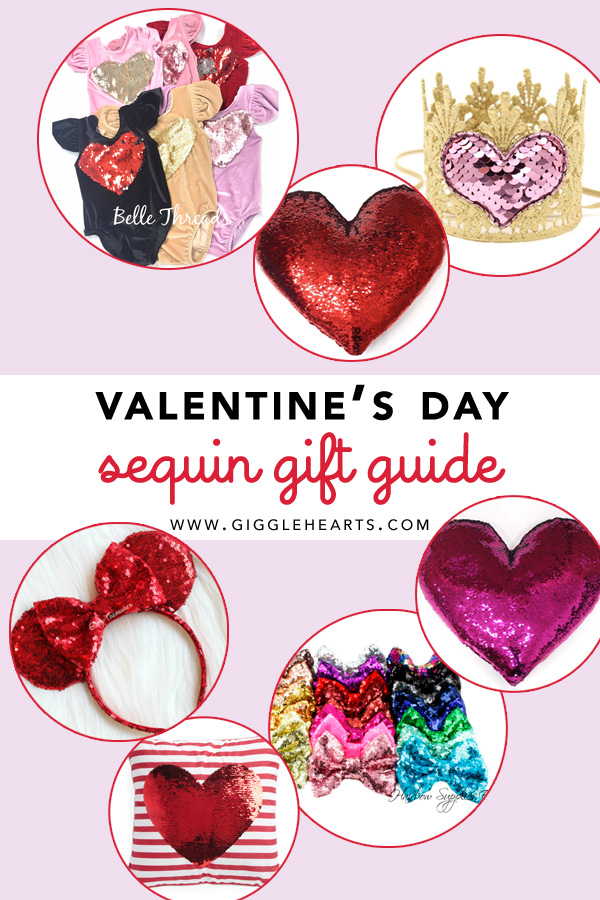 The Best Sequin Gifts for Valentines Day / Valentines Day Sequin Gift Guide for Girls and your Best Friends