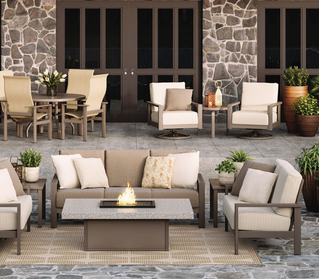 Elements Modern Outdoor Patio Collection by Homecrest