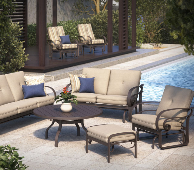 Emory Outdoor Patio Collection by Homecrest