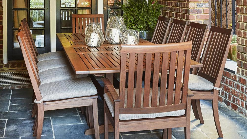 Richmond IPE Outdoor Dining by Jensen Leisure