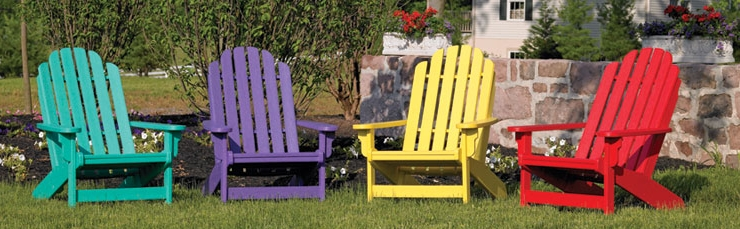 styles materials and colors our adirondacks by breezesta are made of