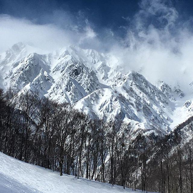 today i am 25 and a half. 長野の山と一緒に歌っていました。 #japan #mountains #山 #スキー
