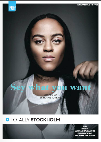 TOTALLY STOCKHOLM COVER STORY : SEINABO SEY
