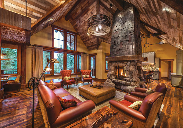 The second Mountain Home Award went to a contemporary retreat in Martis Camp on Lake Tahoe, which was designed by The Sandbox Studio and Kasey Hudson Design and built by Tony Hardy Construction. Source: Tahoe Quarterly