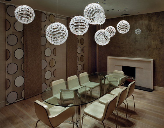 Hellbob Swarovski Strass® Octagons by Windfall Source: SHH - Spence Harris Hogan Associate via Houzz