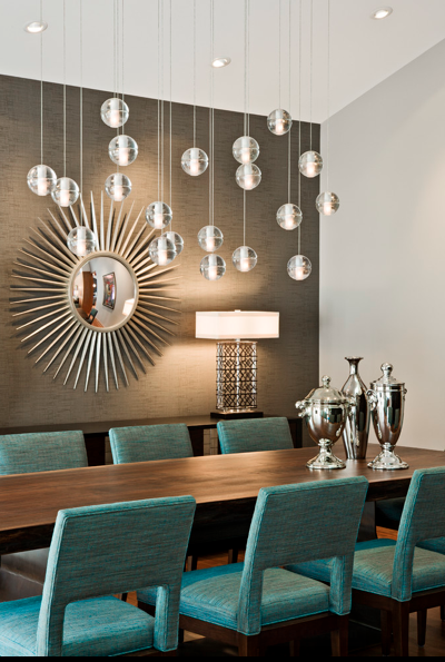 Bocci 14 Series Fourteen LED Pendant Chandelier Source: Peterssen/Keller Architecture via Houzz