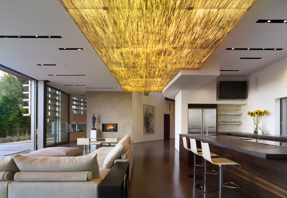 Custom Ceiling Lightbox by Griffin Enright Architects Source: Griffin Enright Architects