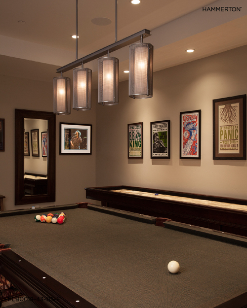 game room lighting. A Hammerton Studio Uptown Mesh Fixture With Beige Silver Finish And Frosted Inner Lens Game Room Lighting