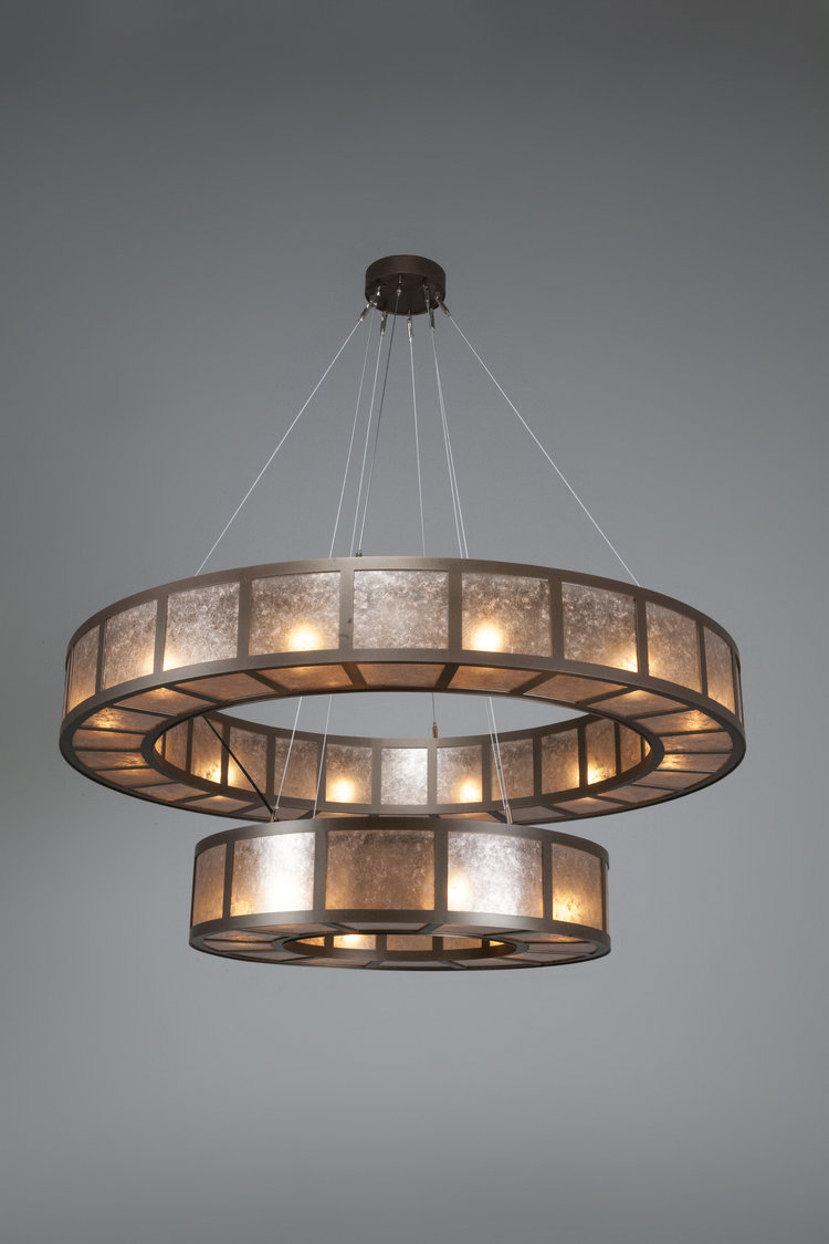 High drama problem solver the nested ring chandelier hammerton from the hammerton contemporary collection ch2249 l 60d x 60 arubaitofo Image collections