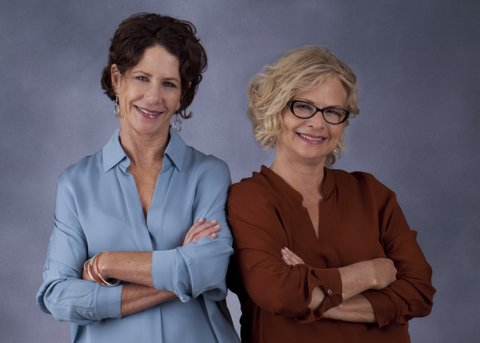 LMK partners Gayle Leksan and Leslie Kalish...