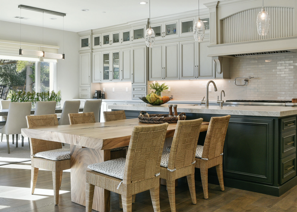 Delightful The Kitchen And Dining Area In A Mediterranean Home Recently Updated By LMK  Interiors. Over