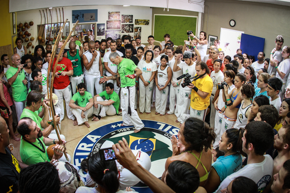 Capoeira Brasil Los Angeles during the Batizado of 2012.