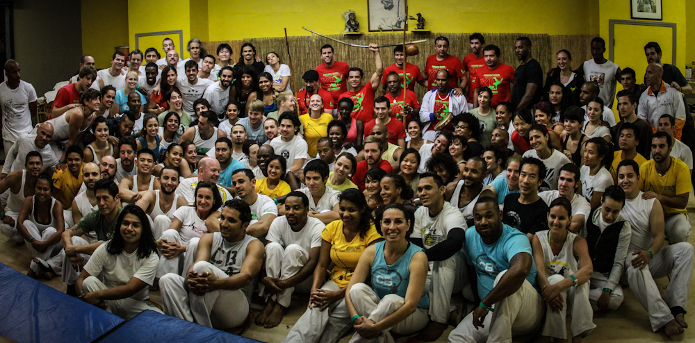 Capoeira Brasil students and teachers from all over the world