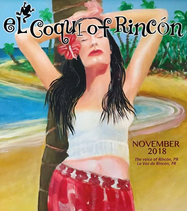 November Issue is NOW ONLINE! Link in the BIO! #elcoqui #elcoquiofrincon #magazine #localmagazine #november #issue