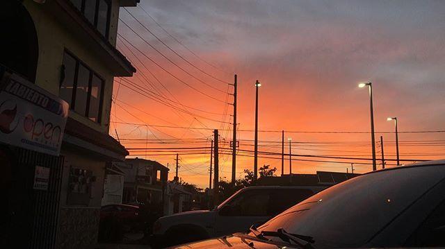 Sunsets in Rincón 🧡 #rincon #puertorico #sunset #pueblodelosbellosatardeceres #truecolors #nofilter