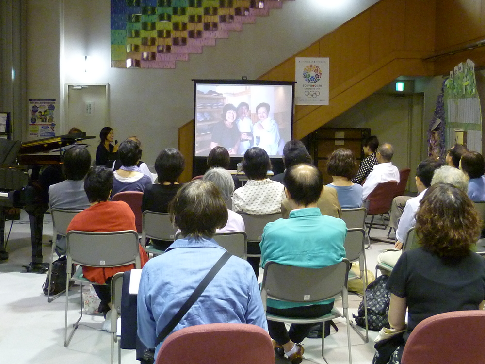 Lecture on the progress of the disaster recovery in Tohoku