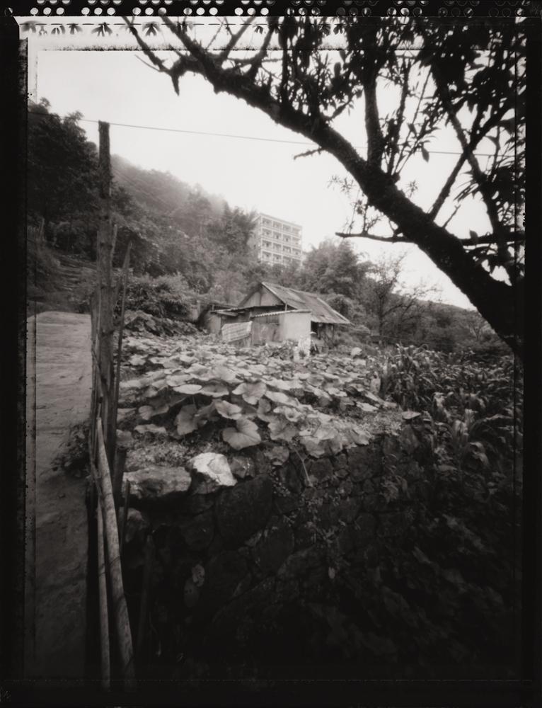 Hillside, Sapa . Pinhole Image © 2007.