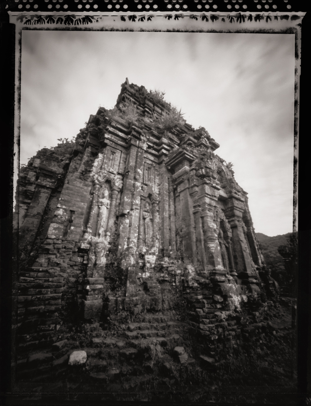 Cham Temple, My Son Ruins ,  UNESCO World Heritage Site . Pinhole Image © 2007.