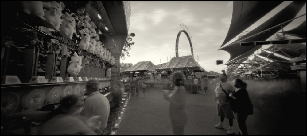Midway Games.  Panoramic Pinhole Image © 2008.