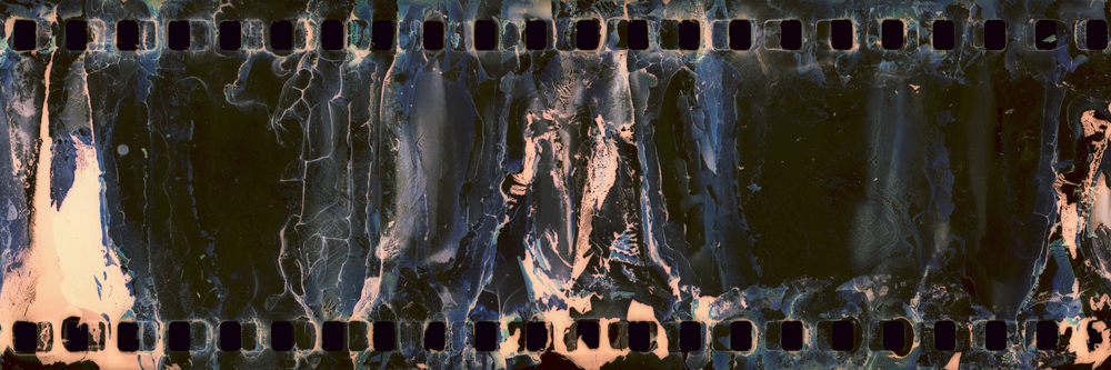 Found: Filmstrip Cyan