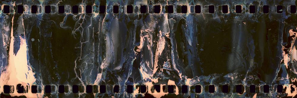 Found: Filmstrip Cyan