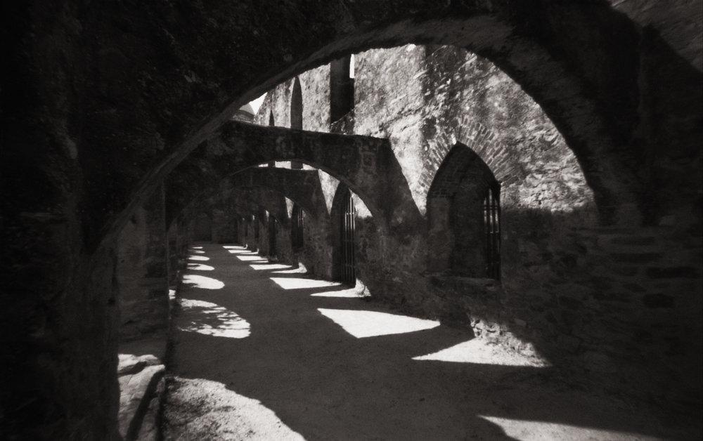Arches, Mission San José y San Miguel de Aguayo