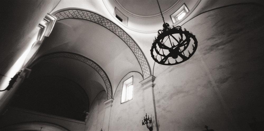 Interior, Mission San José y San Miguel de Aguayo