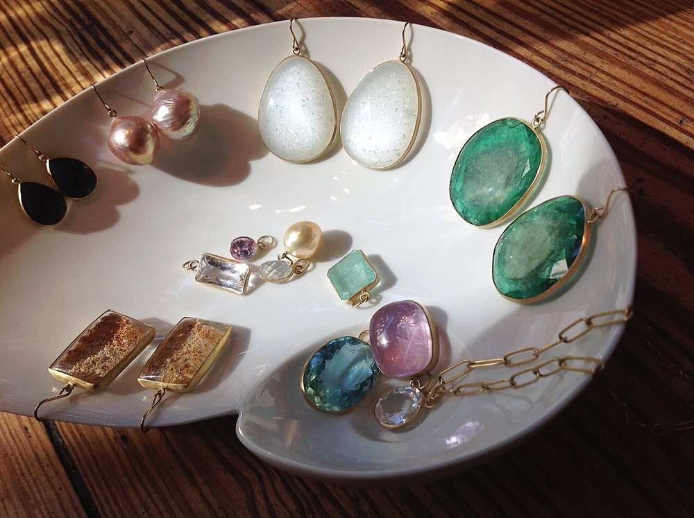 Living in a dreamland thanks to new Maria Beaulieu gemstones and pearls