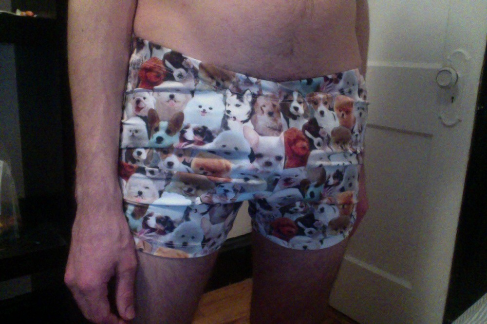 Puppy Print Bootyshorts for Kyle