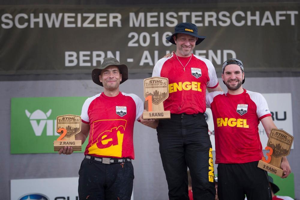 Erster Platz: Christophe Geissler, 2. Platz: Cyril Pabst und 3. Platz: David Knecht