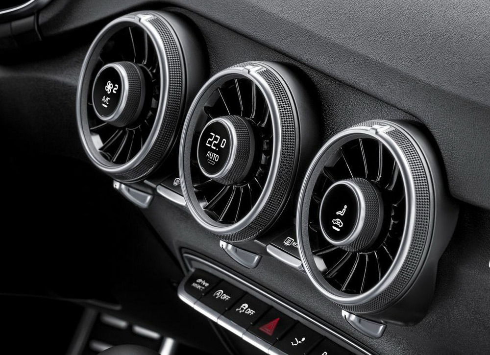 Slick air vents!
