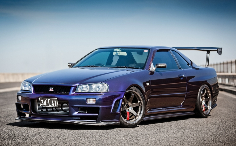 R34 Skyline GTR...in purple