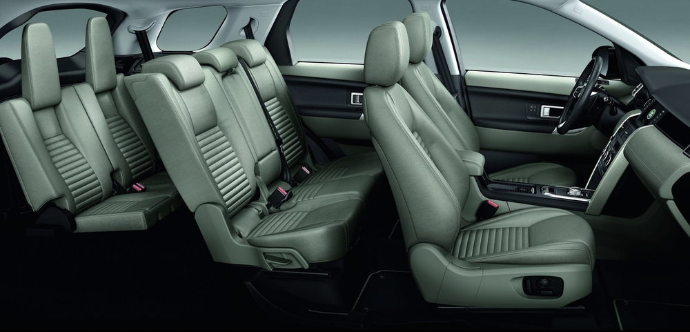 Notice the leg room and cushion size of the rear seats...now think of two-people you despise...