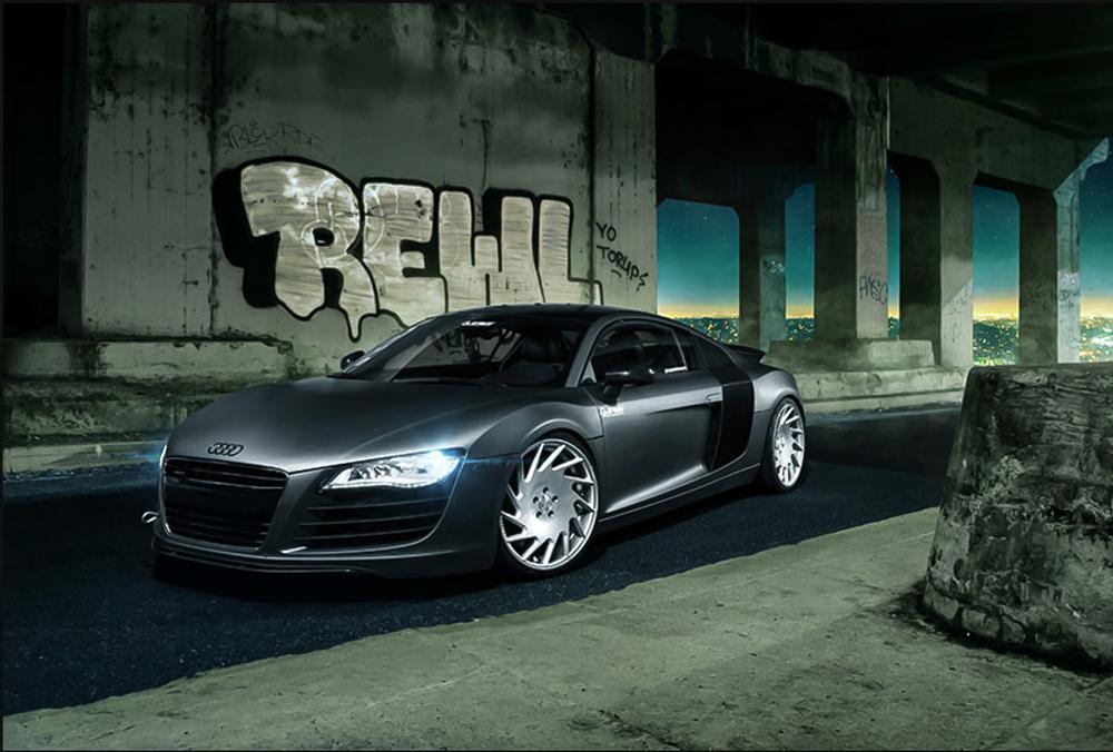 Audi R8 on VLE-1's