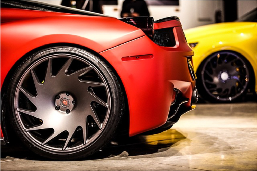 Ferarri 458 on VLE-1's
