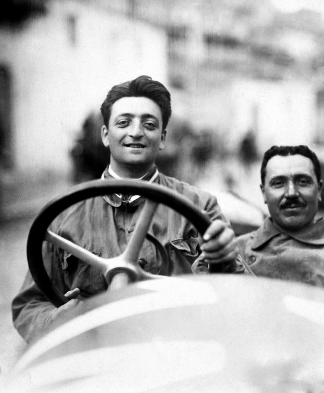 A Young Enzo Ferrari