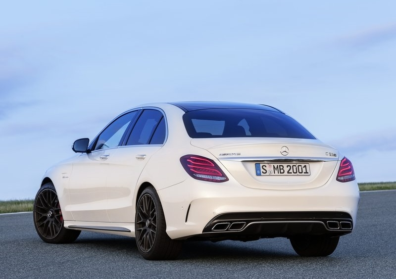 The newest in the line of AMG C-Class cars, the AMG C63