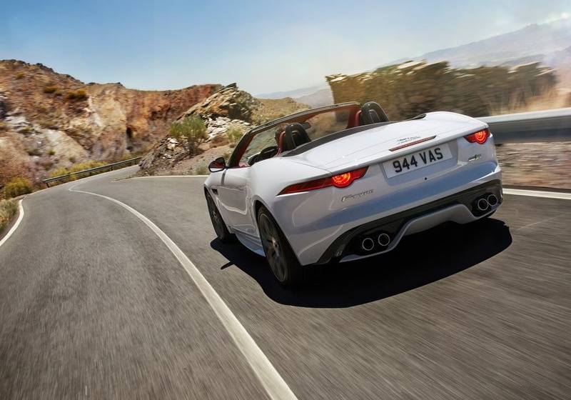 The new F-Type R, the replacement for the old V8 S
