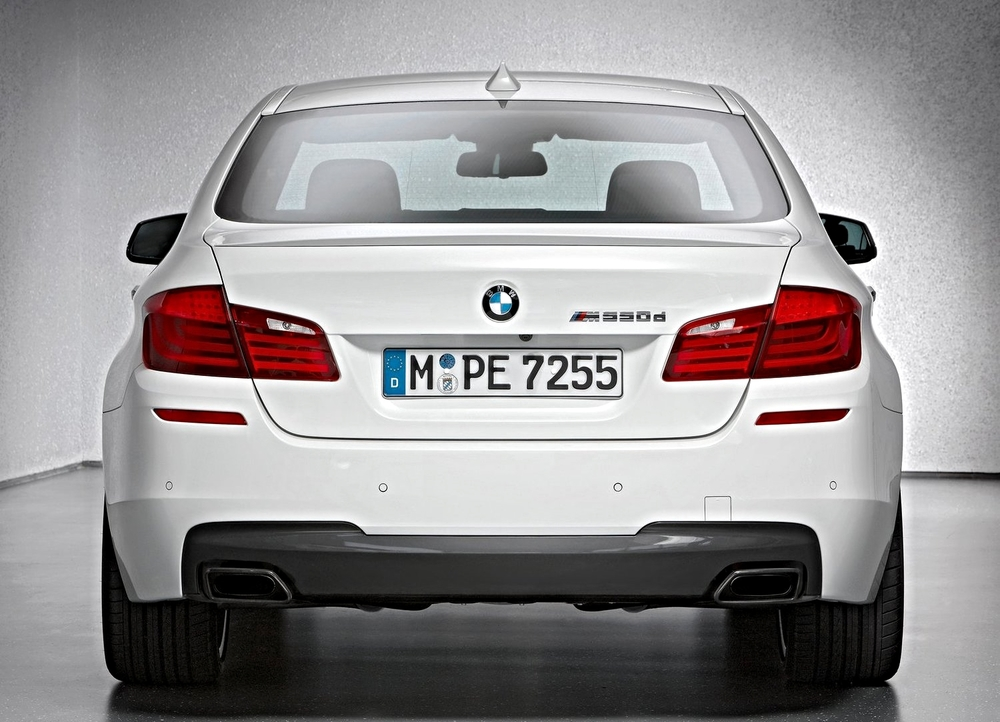 The balls to the wall BMW M550d