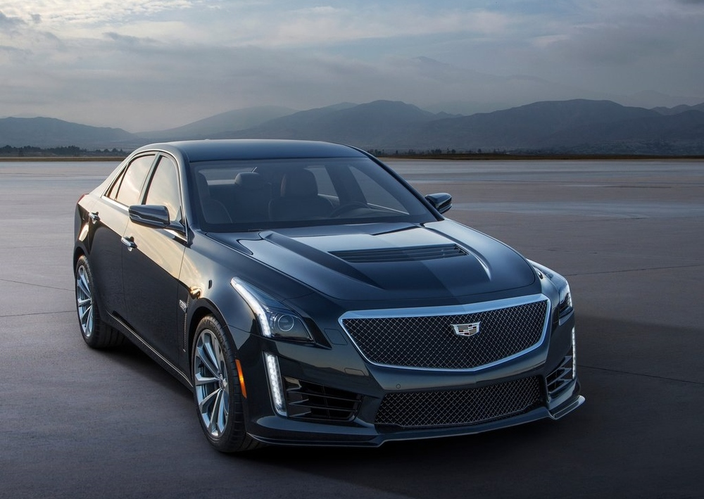 The brand new Cadillac CTS-V
