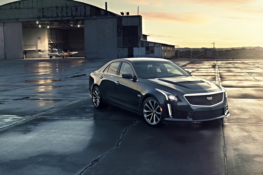 The shot heard around the world. 2016 CTS-V